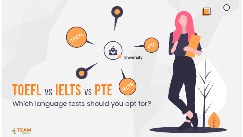 TOEFL VS IELTS VS PTE: which language tests should you opt for?