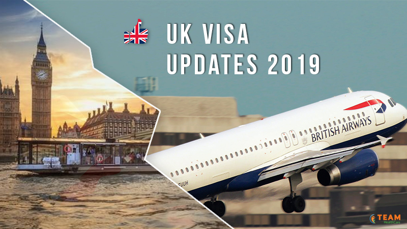 Updates in the UK visa 2019